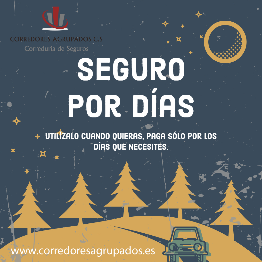 seguro por dias, www.corredoresagrupados.es